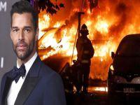 Ricky Martin... HALK KALDIĞI OTELİ ATEŞE VERDİ!