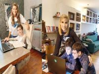 Online eğitim...ÜNLÜLERİN DERS ZAMANI!
