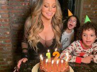 Mariah Carey...50 YAŞINA ÇİFTE PASTA!