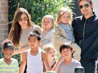 Brad Pitt - Angelina Jolie...ÇOCUKLAR KONUSUNDA UZLAŞTILAR!