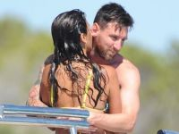 Lionel Messi… TATİLDE AŞK!