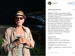 Jean-Claude Van Damme… TÜRKİYE'YE DESTEK MESAJI