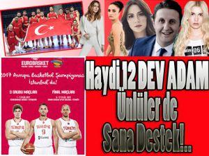 AVRUPA ŞAMPİYONASI'NA ÜNLÜLERDEN DAVET!!!